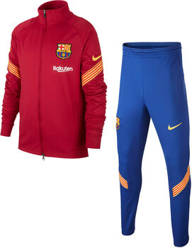 Nike FC Barcelona Strike kids trainingspak Jongens Rood