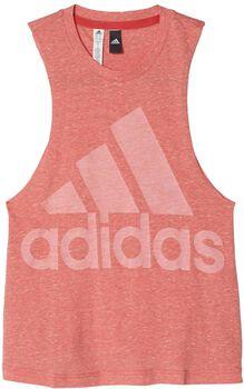 ADIDAS Logo top Dames Roze