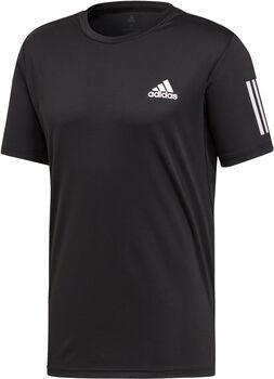adidas 3-Stripes Club shirt Heren Zwart
