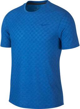 Nike Court Challenger tennisshirt Heren Blauw