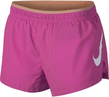 Nike Elevate Track short Dames Roze