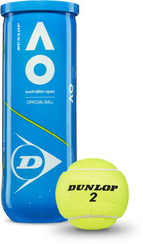 Dunlop Australian Open tennisballen Geel