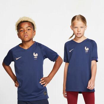 Nike Frankrijk Breathe Stadium shirt Meisjes Blauw