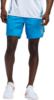 "adidas Saturday Primeblue 7"" short Heren Blauw"