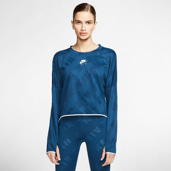 Nike Air Crew longsleeve Dames Blauw