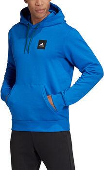 adidas Must Haves Graphic hoodie Heren Blauw