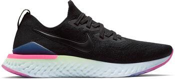 Nike Epic React Flyknit hardloopschoenen Heren Zwart