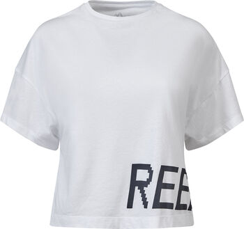 Reebok Gymana Loose shirt Dames Wit