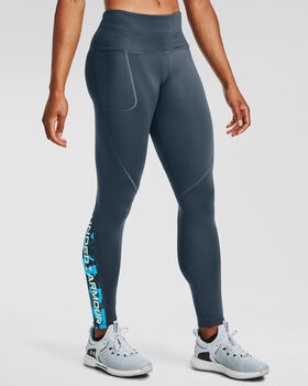 Under Armour CG Armour Graphic legging Dames Blauw