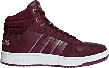 ADIDAS Hoops 2.0 Mid sneakers Dames Rood