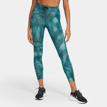 Nike Epic Faster Run Division legging Dames Groen