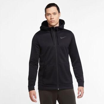 Nike Therma Fleece Full-Zip hoodie Heren Zwart