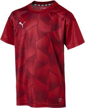 Puma ftbINXT Graphic jr shirt Jongens Rood