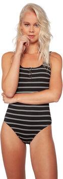 Protest Stripey badpak Dames Zwart