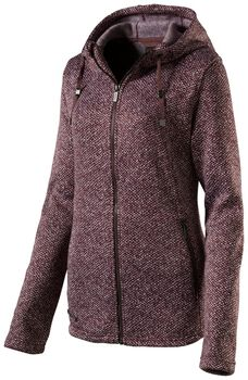 McKINLEY Dora fleece Dames Rood