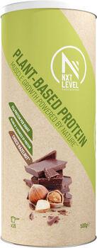 NXT Level Plant-Based Proteïne Mix hazelnoot-chocolade 500 gram Groen