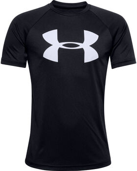 Under Armour Tech™ Big Logo kids shirt Jongens Zwart
