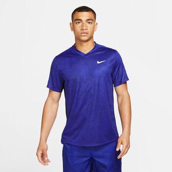 Nike Dry Victory Printed shirt Heren Blauw