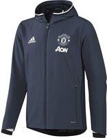 Adidas Manchester United presentatie jack Heren Blauw