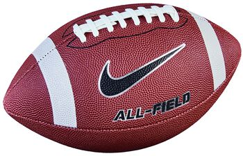 Nike All-field 3.0 american football Zwart