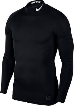 Nike Pro Thermo longsleeve Heren Zwart