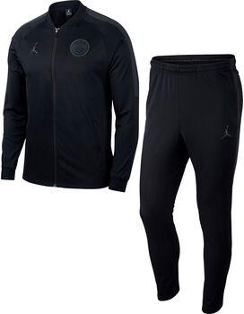 Nike Paris Saint-Germain Dry Squad trainingspak Heren Zwart