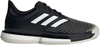 ADIDAS SoleCourt Clay schoenen Heren Zwart