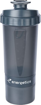 ENERGETICS Shaker 0,6L fles Grijs