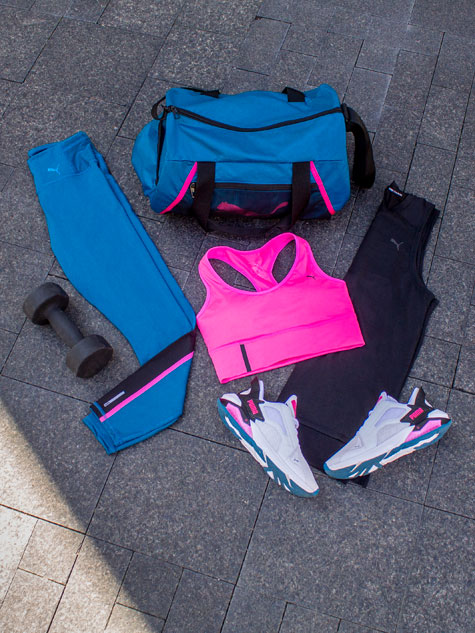 PUMA LQDCELL dames outfit
